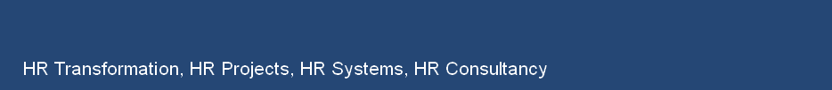HR Transformation, HR Projects, HR Systems, HR Consultancy